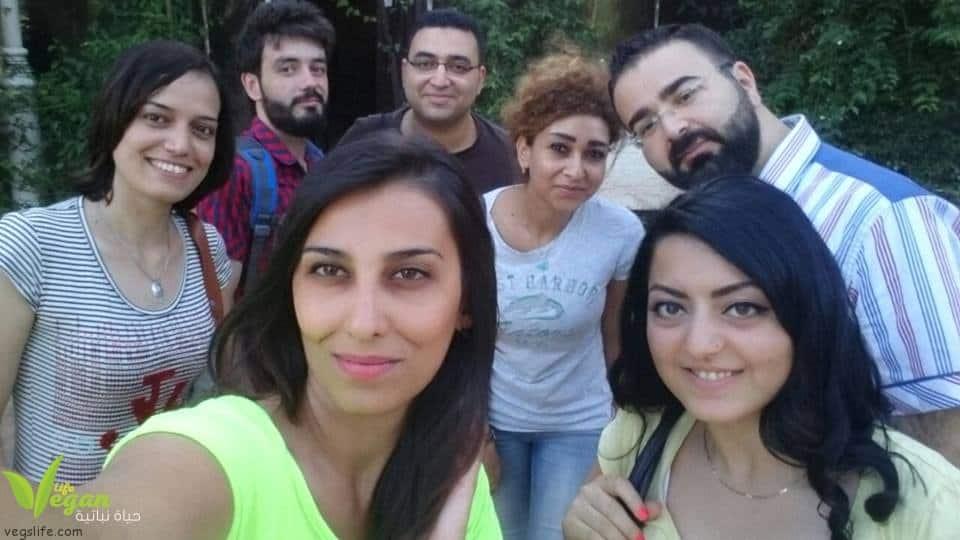 صورة الاجتماع الاول للنباتين في دمشق