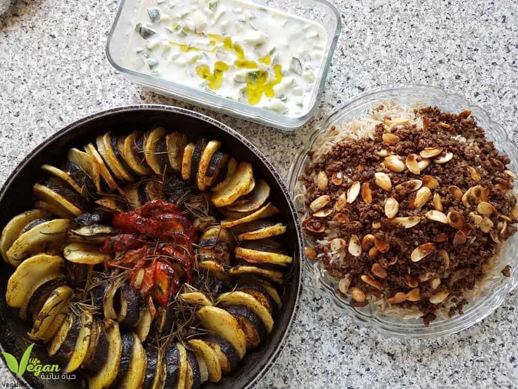 المطبخ النباتي • حياة نباتية موقع ملتقى النباتيين، حياة نباتية من أجل الحيوان الانسان البيئة والسلام
