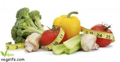 الرجيم النباتي لانقاص الوزن، حمية نباتية لانقاص الوزن الزائد