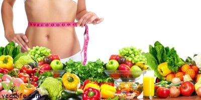 عشرة نصائح لفقدان الوزن مع الحمية النباتية